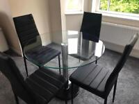 Modern Dining Room Table And Chairs
