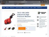 TX 12/100 power washer
