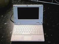 Small tablet sized netbook internet ready