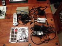 Collection of PC accessories inc internal DVD drive, firewire card, memory, media centre remote