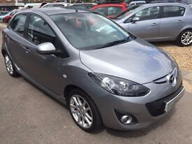 2011/11 MAZDA MAZDA2 1.3 TAKUYA,5 DOOR,2 OWNERS,GREAT SPEC+CONDITION,LOOKS AND DRIVES REALLY WELL