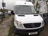 2011 MERCEDES-BENZ SPRINTER 313 LWB.BRILLIANT DRIVE.1 OWNER.FULL SERVICE HISTORY.E/W. C/L. WARRANTY.