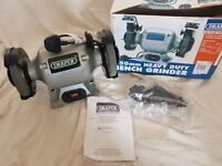 For sale at £20. Brand New 150mm Draper Bench Grinder