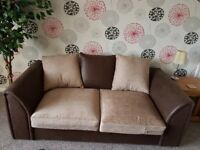 Three seater and two seater settee