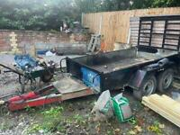 Plant trailer used