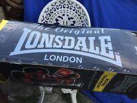 Lonsdale boxing bag