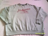 "Joe Browns Campus Wear sweatshirt. Size XL. Pit/pit 29"". VGC."