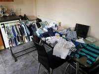 Huge collection of baby boys cloths new born, tiny baby ,0-3months