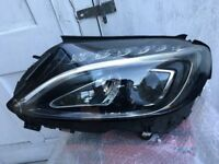 MERCEDES C CLASS 2016 XENON LED DRIVER SIDE HEADLIGHT