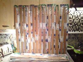 Job lot laminate flooring door strips £30 cash the lot