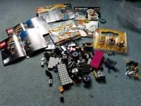 Lego job lot minifigures bricks accessories instructions