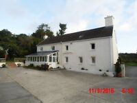 4 Bed 7.5 Acre Smallholding + 2 Bed Cottage. Near Pontyates