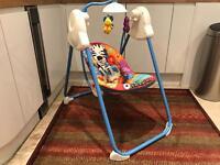 Fisher price baby's swing