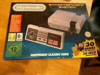 NES mini classic with the original 30 games plus more added