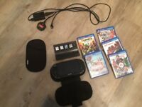 Ps vita for sale with six games