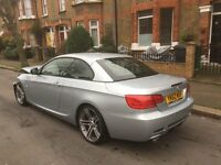 2012 62 BMW 320D SPORT PLUS EDITION E93 CONVERTIBLE DAMAGED SALVAGE REPAIRABLE