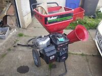 Baker 5hp Yard Chipper - Eats wood and brush, makes chips better than Walkers ;-)