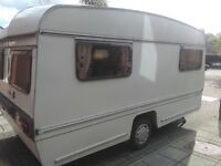 vintage Bailey mikado T Caravan for spares / repair