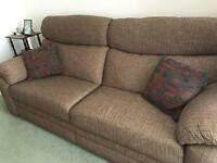 3 seater Sofa settee for sale