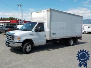 2012 Ford E-450 16 Ft Cube Van, Rear Wheel Drive, 73,643 KMs