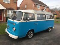 VW T2 Devon baywindow campervan 1973