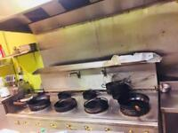 Chinese Wok Cooker - 7 BURNER Gas For Commercial Restaurant takeaway