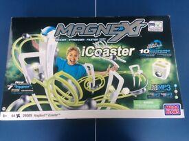 NEW Magnext icoaster Magnetic Plug & Play MP3 Player Light Sound Speed Mega Bloks