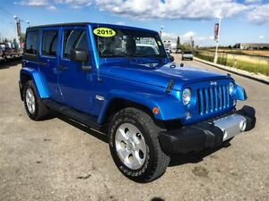 2015 Jeep WRANGLER UNLIMITED Sahara|Navigation