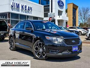 2015 Ford Taurus SHO*AWD*TECHNOLOGY PACKAGE*VOICE ACTIVATED NAVI
