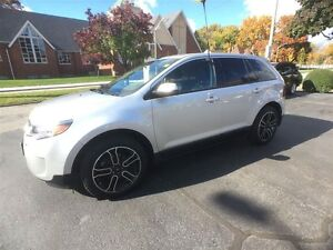 2013 FORD EDGE SEL- HEATED LEATHER SEATS, NAVIGATION SYSTEM, REA