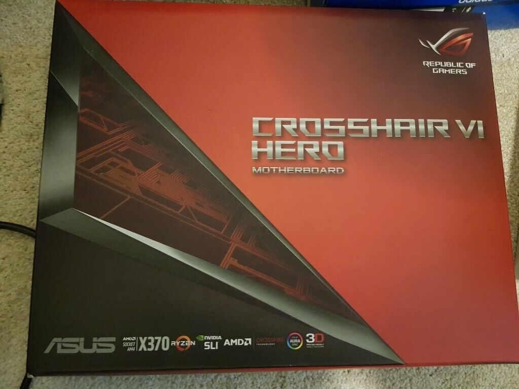 ASUS ROG CROSSHAIR VI HERO | in Bishopbriggs, Glasgow | Gumtree