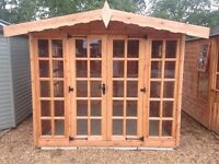 Summerhouse (Shiplap tongue and groove boards)