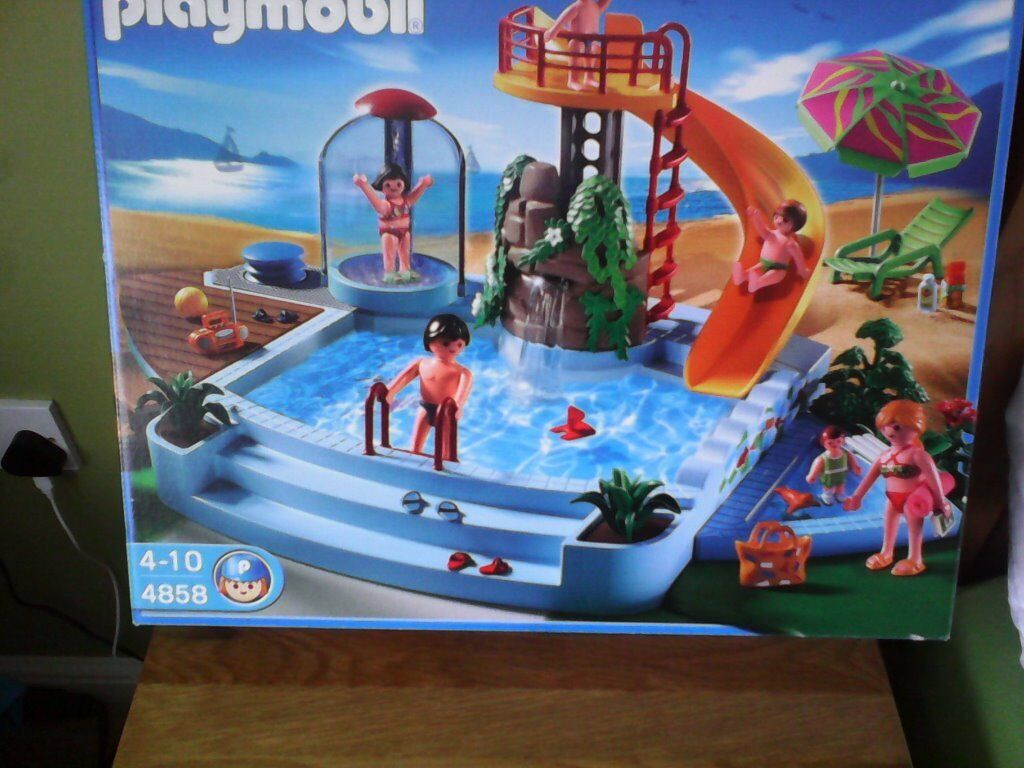 Playmobil swimming pool buy sale and trade ads great prices - Playmobil swimming pool best price ...