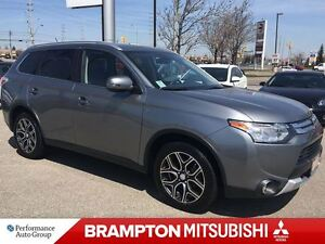 2015 Mitsubishi Outlander GT (NAVIGATION! LEATHER INTERIOR!)