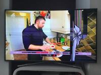 """Damaged 50"""" Samsung 4K HD TV"""