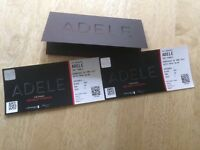 2 Adele Wembley Tickets