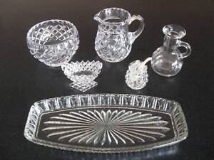 Glass Items Spreyton Devonport Area Preview