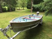 14ft Boat & Motor with Trailer