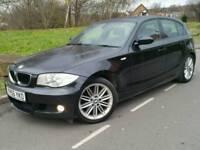 2006 56 BMW 118D M SPORT*5-DR*LEATHER*P/SENSORS*CHEAP TAX+INSURANCE*MINT COND'N*#AUDI#MERCEDES#GOLF