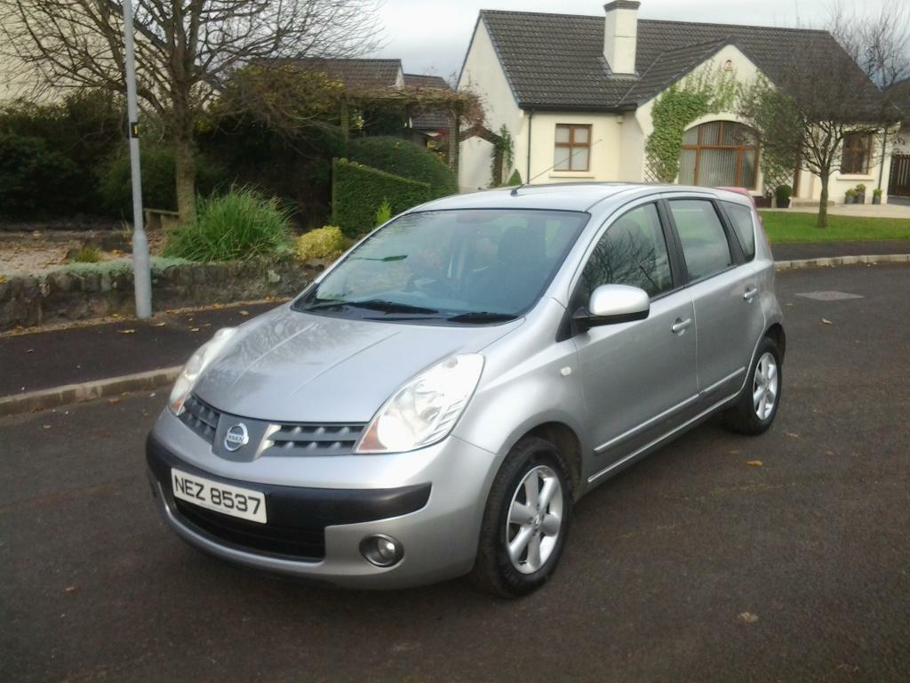 2007 Nissan Note 1.6 SE MOT'D TO JULY 2018