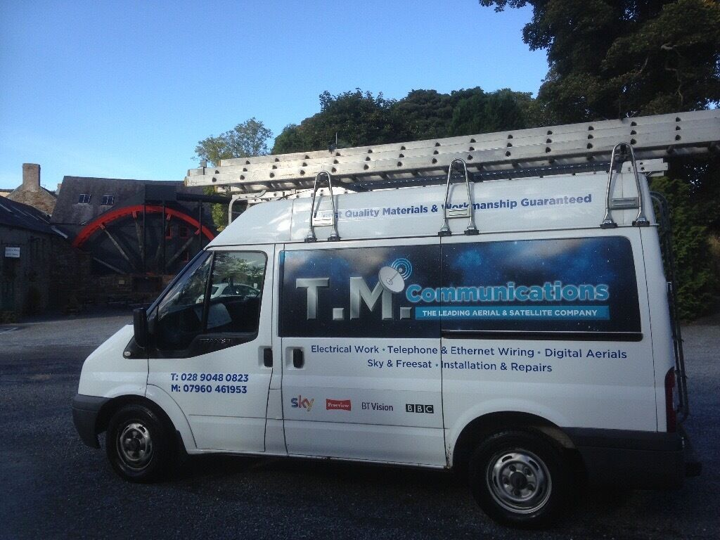 Tv Aerialsatellite Dish Ethernet Installation Repairs Skybbc Wiring Instructions Skybbcfreeview