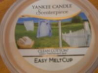 Yankee Candle Easy meltcup- clean cotton