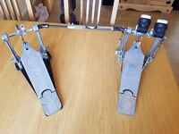 Gibraltar Rock Double Bass Drum Pedal