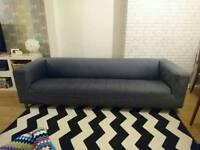 4 seater ikea klippan sofa