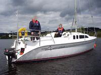 1998 Hunter Legend 240 - 24 foot Trailer/Sailer Yacht
