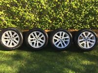 BMW 1,3,5,F series Alloy Wheels 16'' with Continental Run Flat Tyres 205/55/16