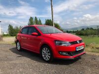 2011 VW Polo 1.6TDI SEL - High Spec in Red (Manual/F.S.H/Low Mileage/Great Condition/Low Owners)