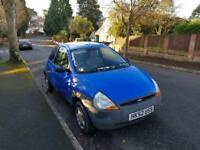 2003/52 Ford Ka 1.3 3dr ** LOW MILEAGE/LOW TAX**