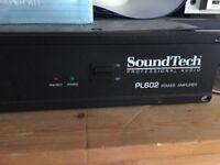 Soundtech Amplifier model PL602