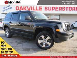 2016 Jeep Patriot Sport/North | AWD | LEATHER | SUNROOF | NAVI |
